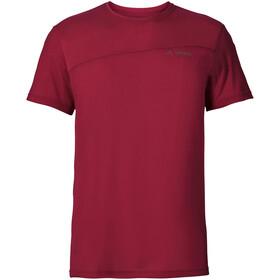 VAUDE Sveit T-shirt Herr dark indian red